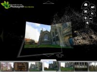 Photosynth の3D空間と写真のマッピング