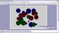 Excel のグラフを利用した作品 Random Chart Art