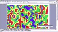Excel のグラフを利用した作品 Random Chart Art その3