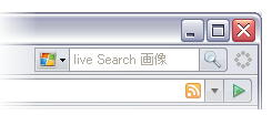 Firefox の検索バーに Live Search 画像検索を追加したところ