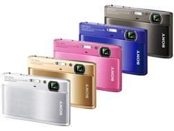 デジタルスチルカメラ『DSC-TX1』 シルバー/ゴールド/ピンク/ブルー/グレー