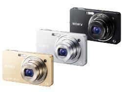 デジタルスチルカメラ『DSC-WX1』 シルバー/ブラック/ゴールド