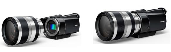 Eマウント採用ビデオカメラのコンセプトデザイン