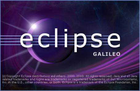 Eclipse の起動スプラッシュ
