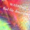 ttyにアクセスができません (Bad file descriptor) エラー