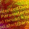 [C#] ParameterizedThreadStart を利用して Thread のメソッドに引数を渡す